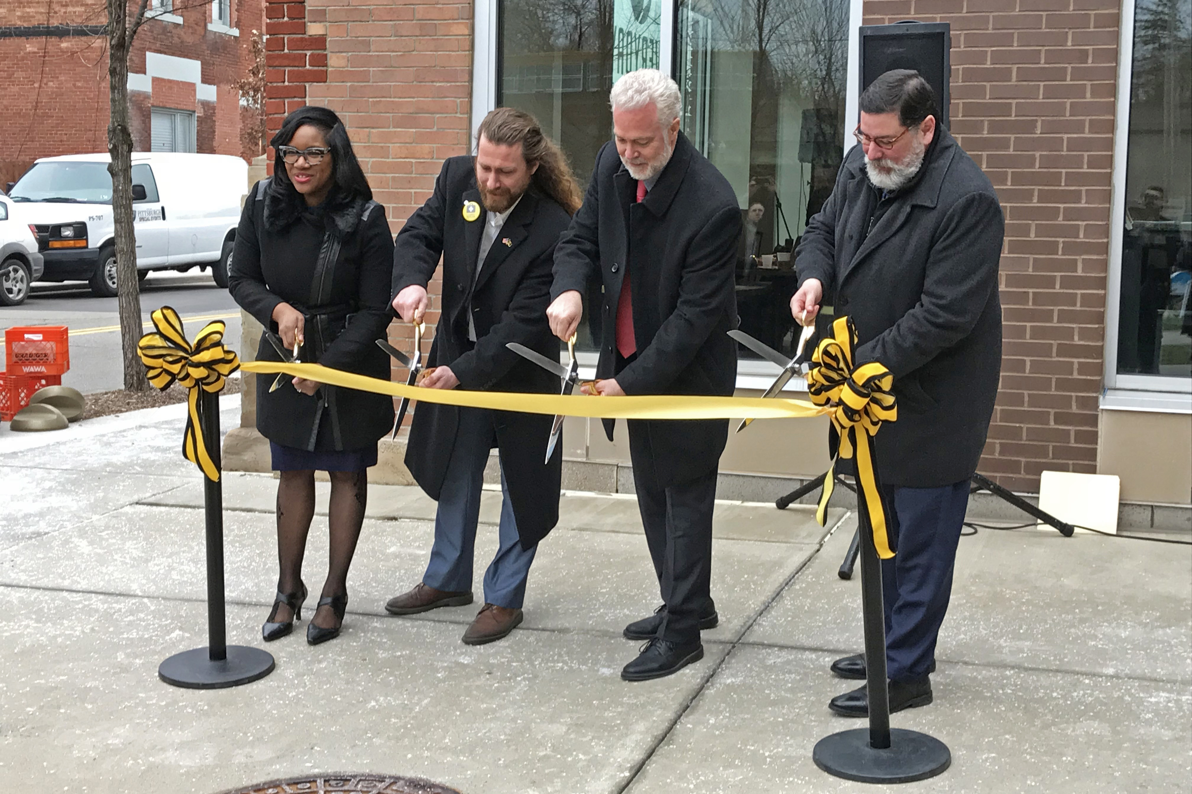 Homewood Pedestrian Improvement Project Ribbon Cutting on Friday, January 31