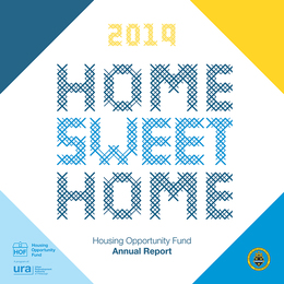 2019 Housing Opportunity Fund Report Cover